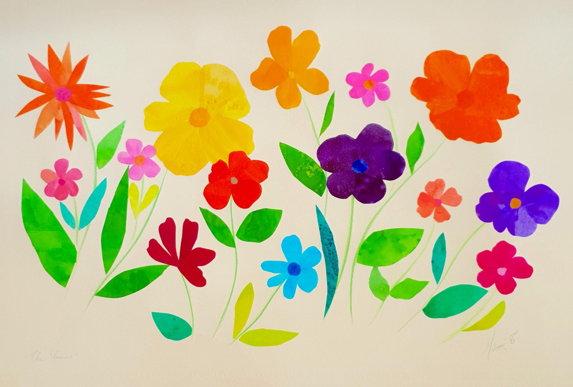 Images et Poésie/ The Flowers