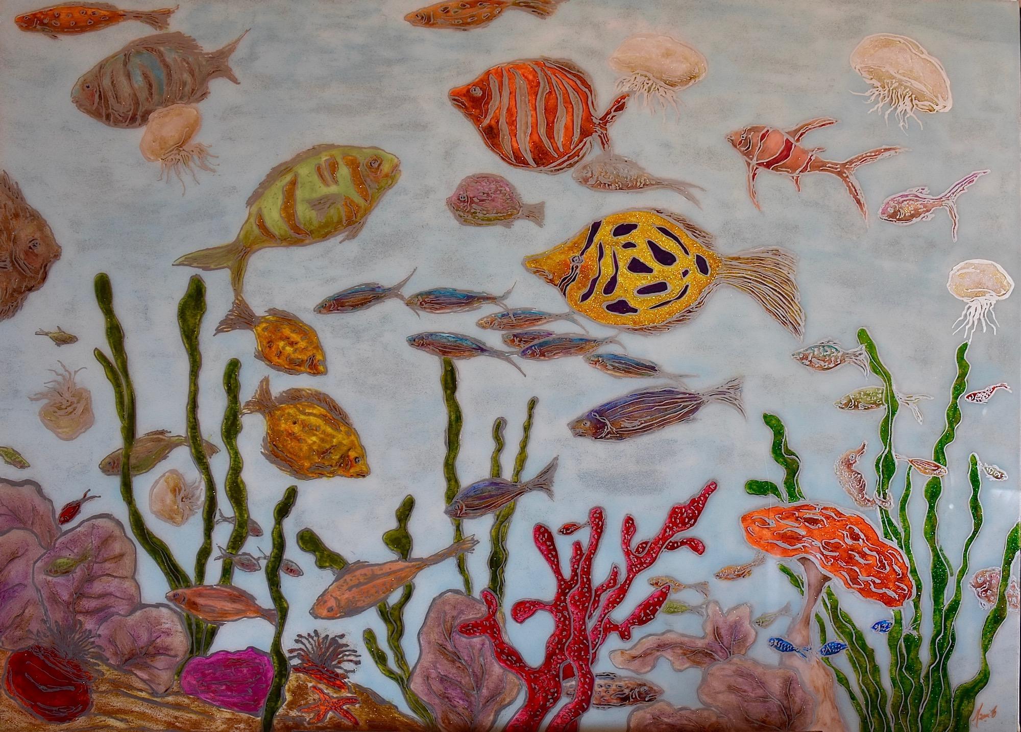 MAMI    /  Images et Poésie, Aquarium Society  / 40 P (100 X 73 cm)