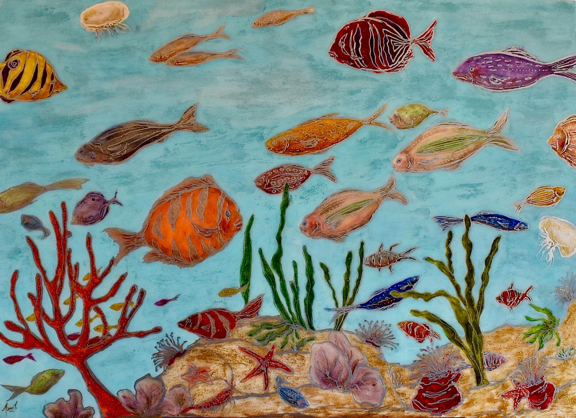 MAMI /  Images et Poésie, Aquarium Society  / 40 P (116 X 73 cm)