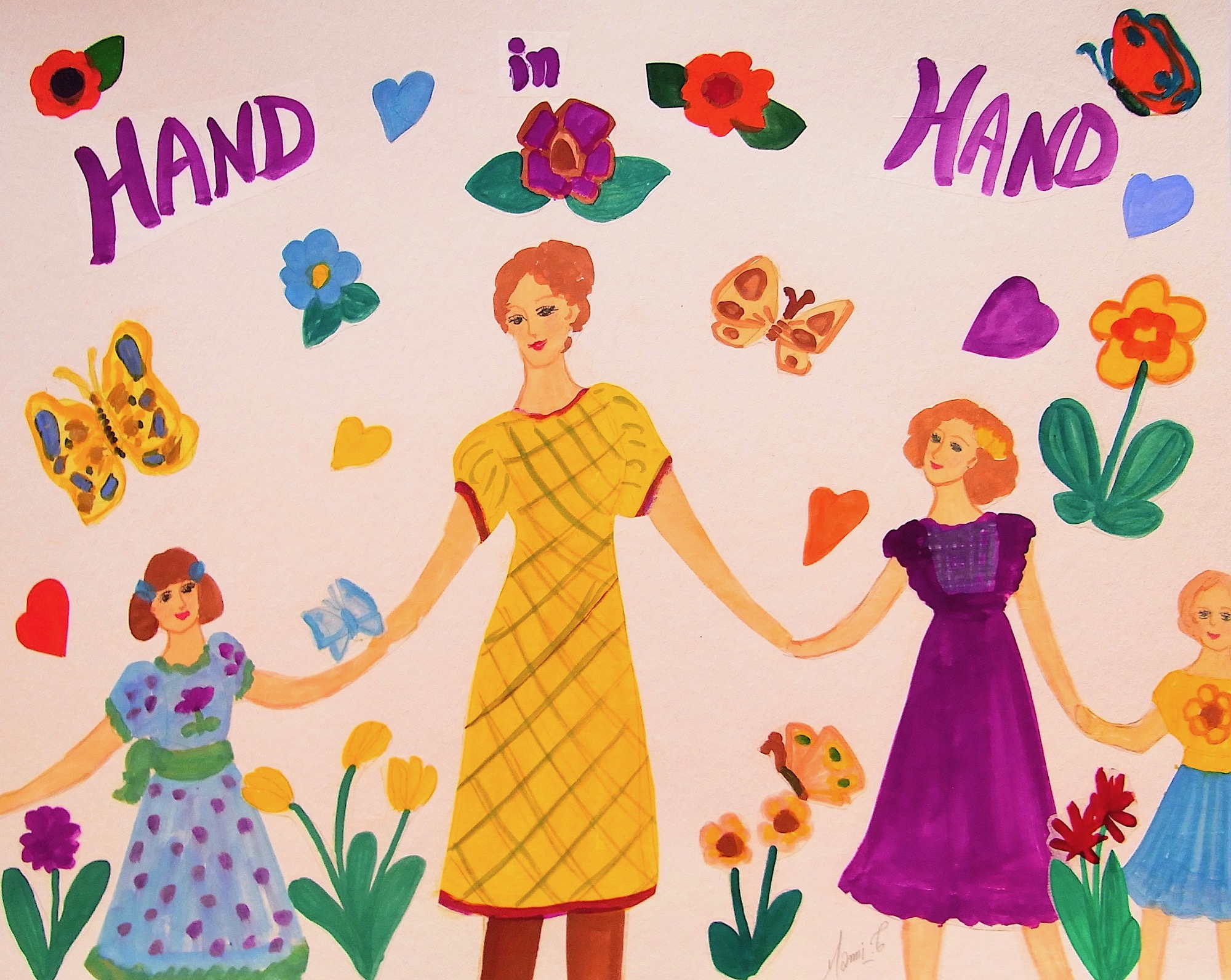 MAMI / Images et Poésie, HAND in HAND
