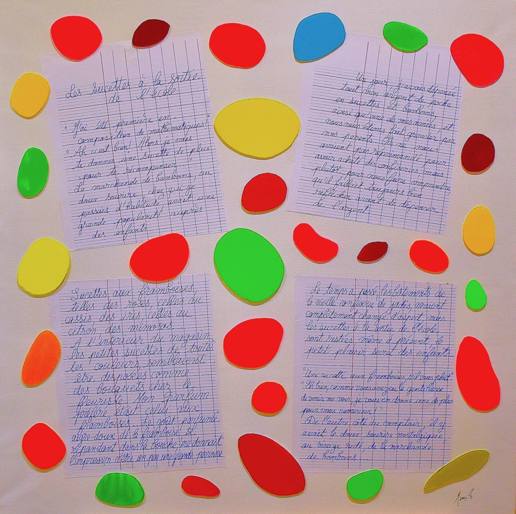 MAMI :Images et Poésie, Les sucettes à la sortie de l'école (photo 4)