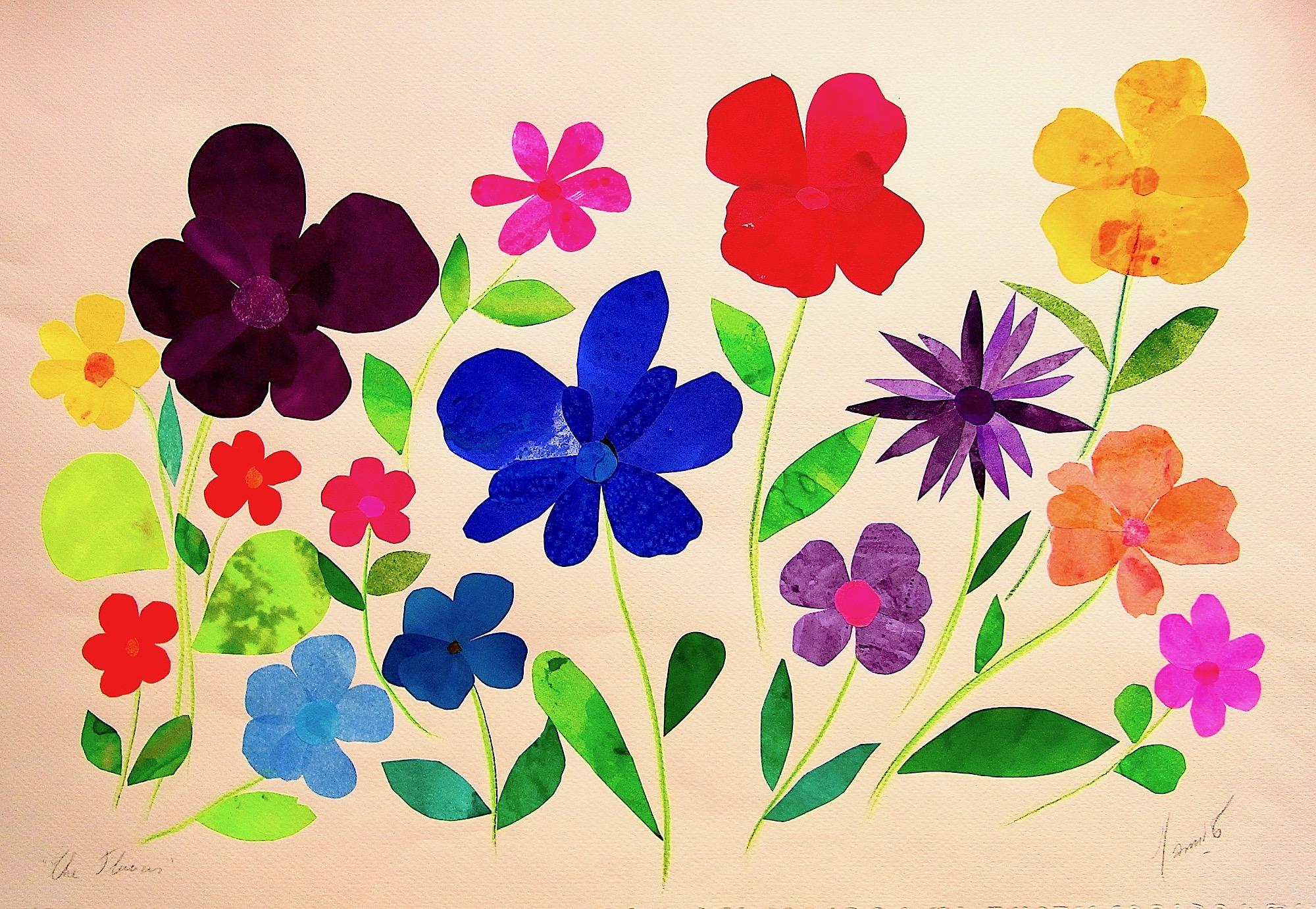 MAMI.  / Images et Poésie, The Flowers