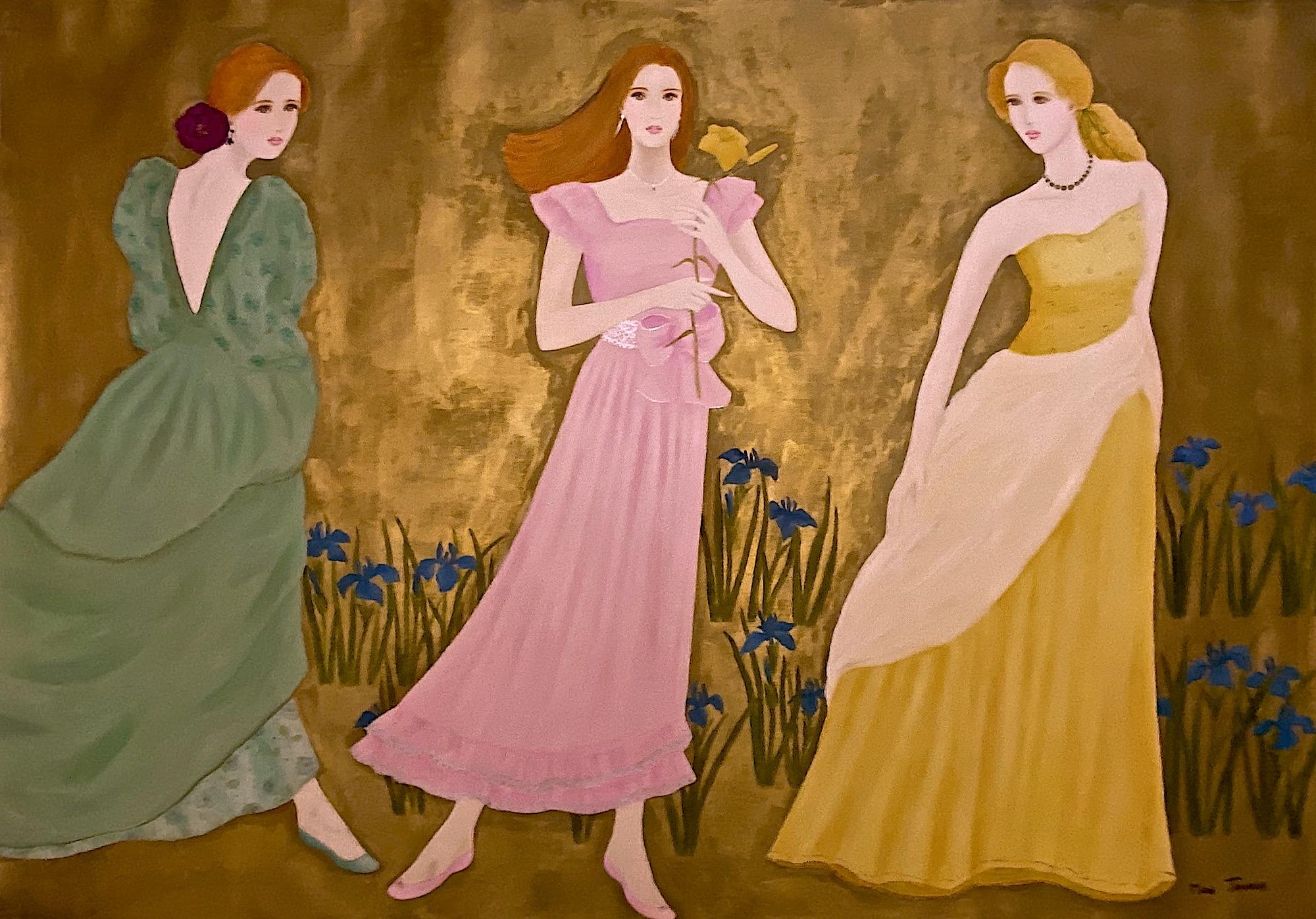 MAMI  /  Images et Poésie , Douceur Evanescente comme l'air que l'on respire  (162x 114 cm)