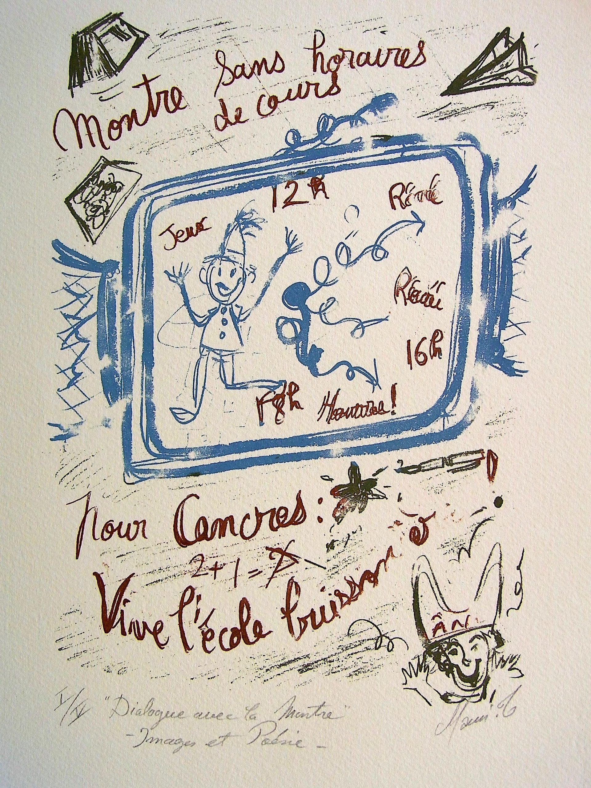 MAMI/ Images et Poésie, Dialogue avec la Montre