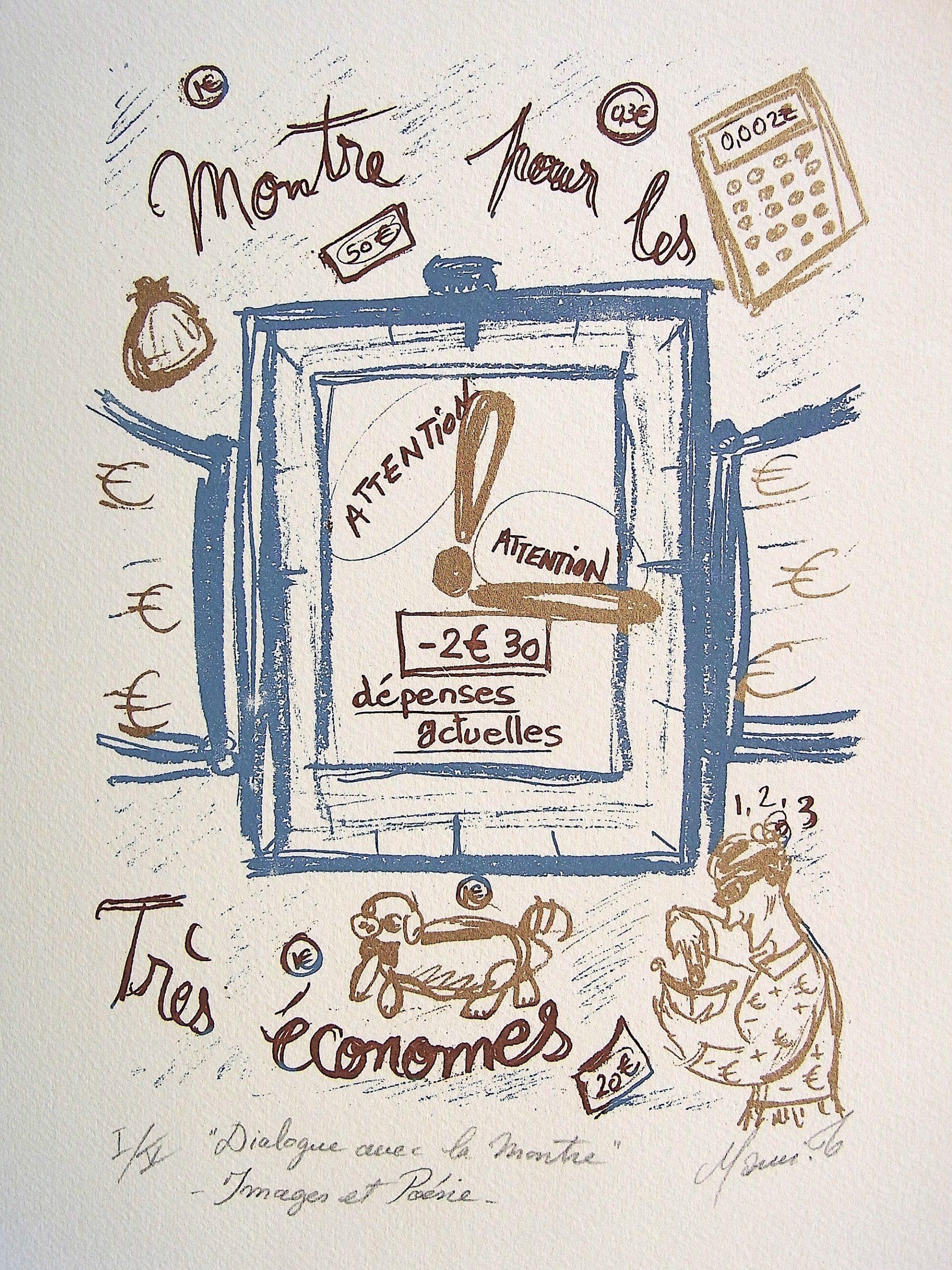 MAMI /Images et Poésie, Dialogue avec la Montre