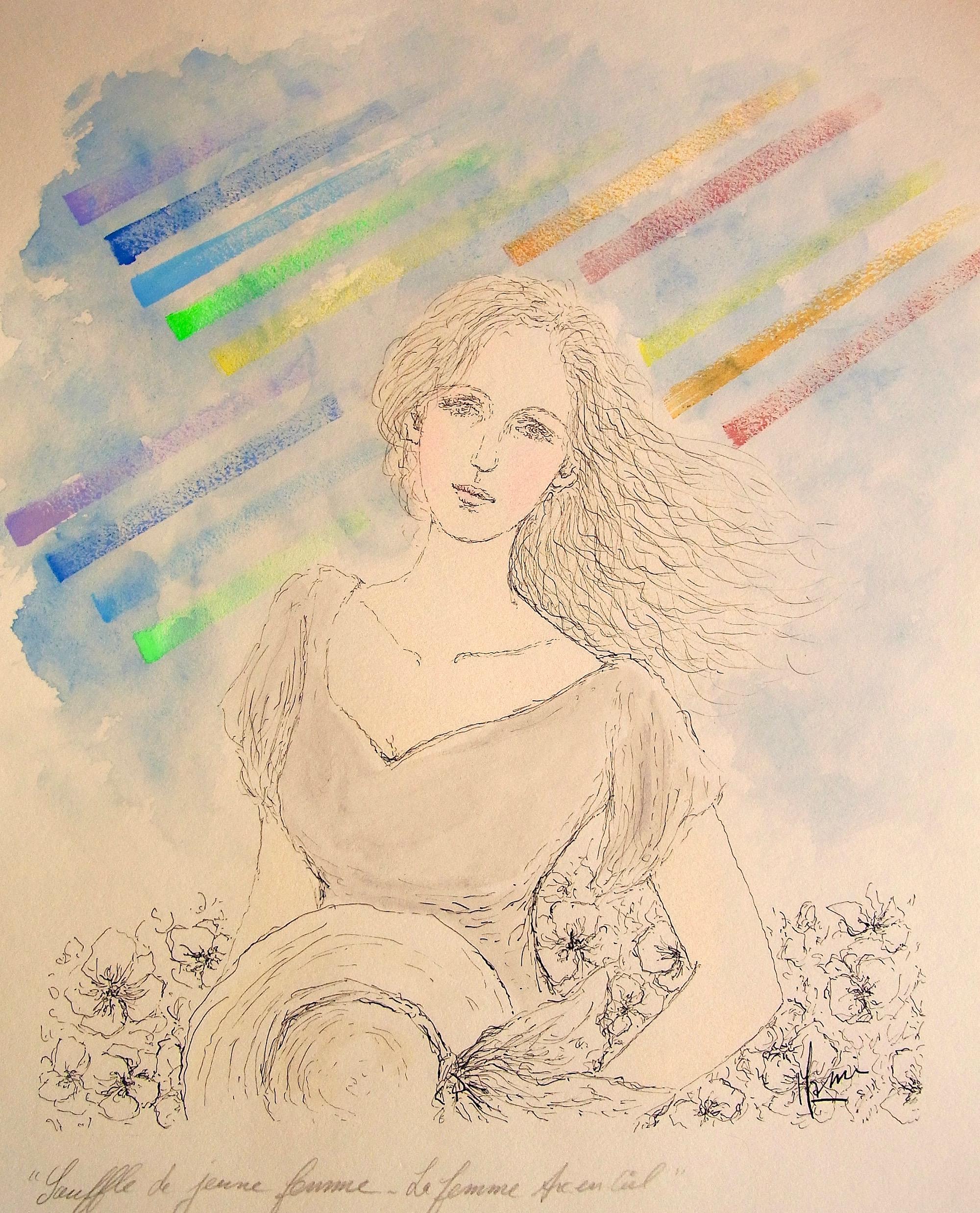 MAMI / Images et Poésie, Douceur Evanescente c                                                                                                                               MAMI/ Images et Poésie, Souffle de Jeune Femme