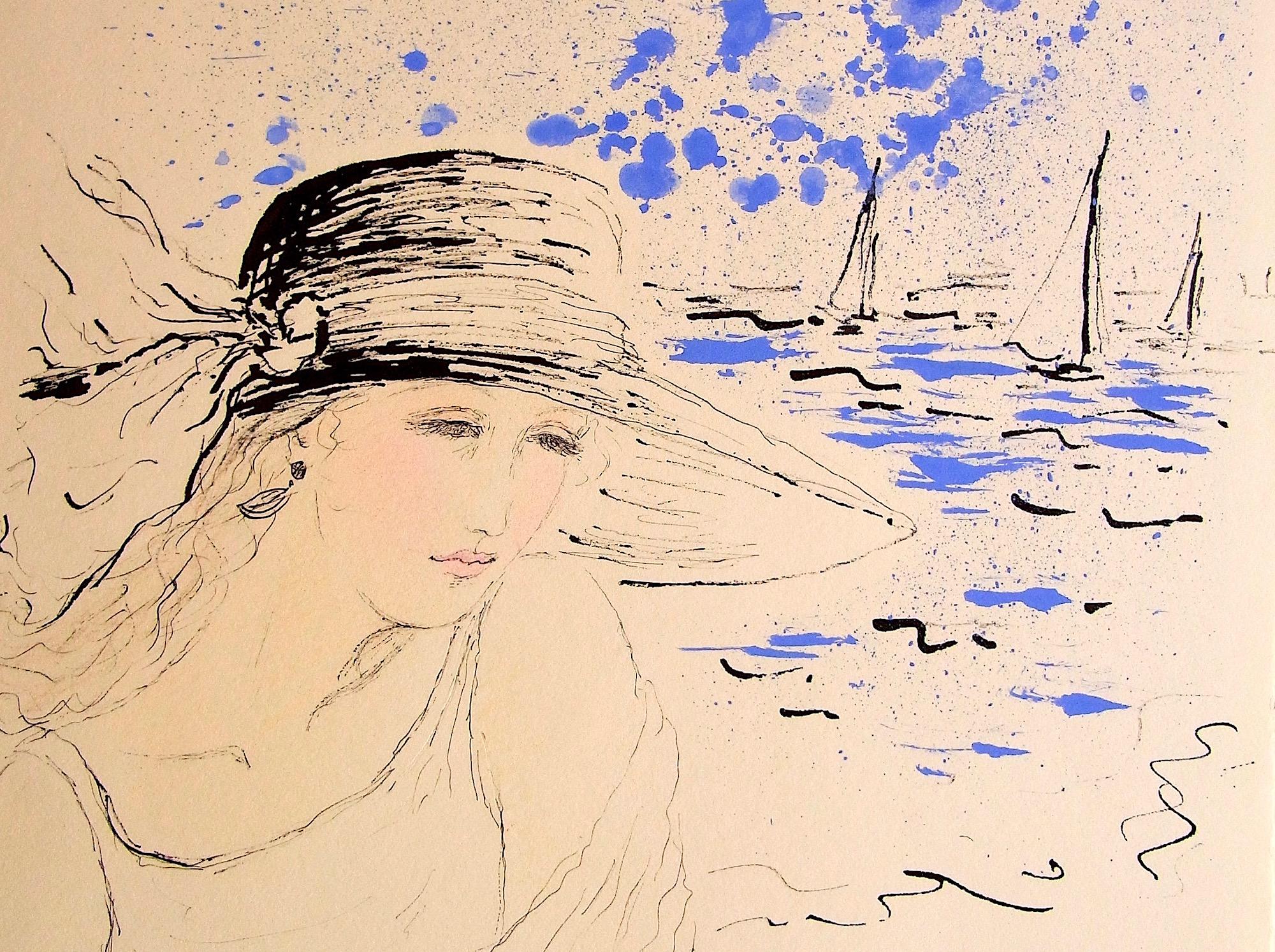 MAMI /. Images et Poésie, Souffle. de.  jeune femme