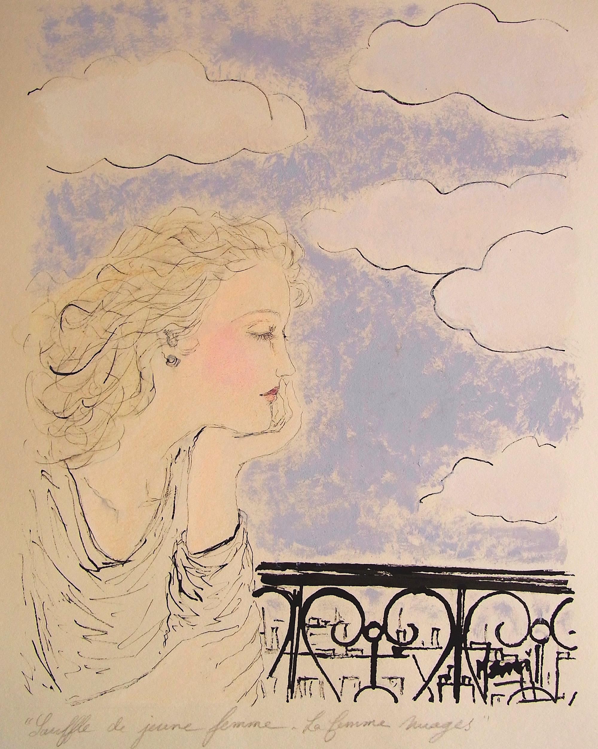 MAMI. / Images et Poésie, Souffle de Jeune Femme