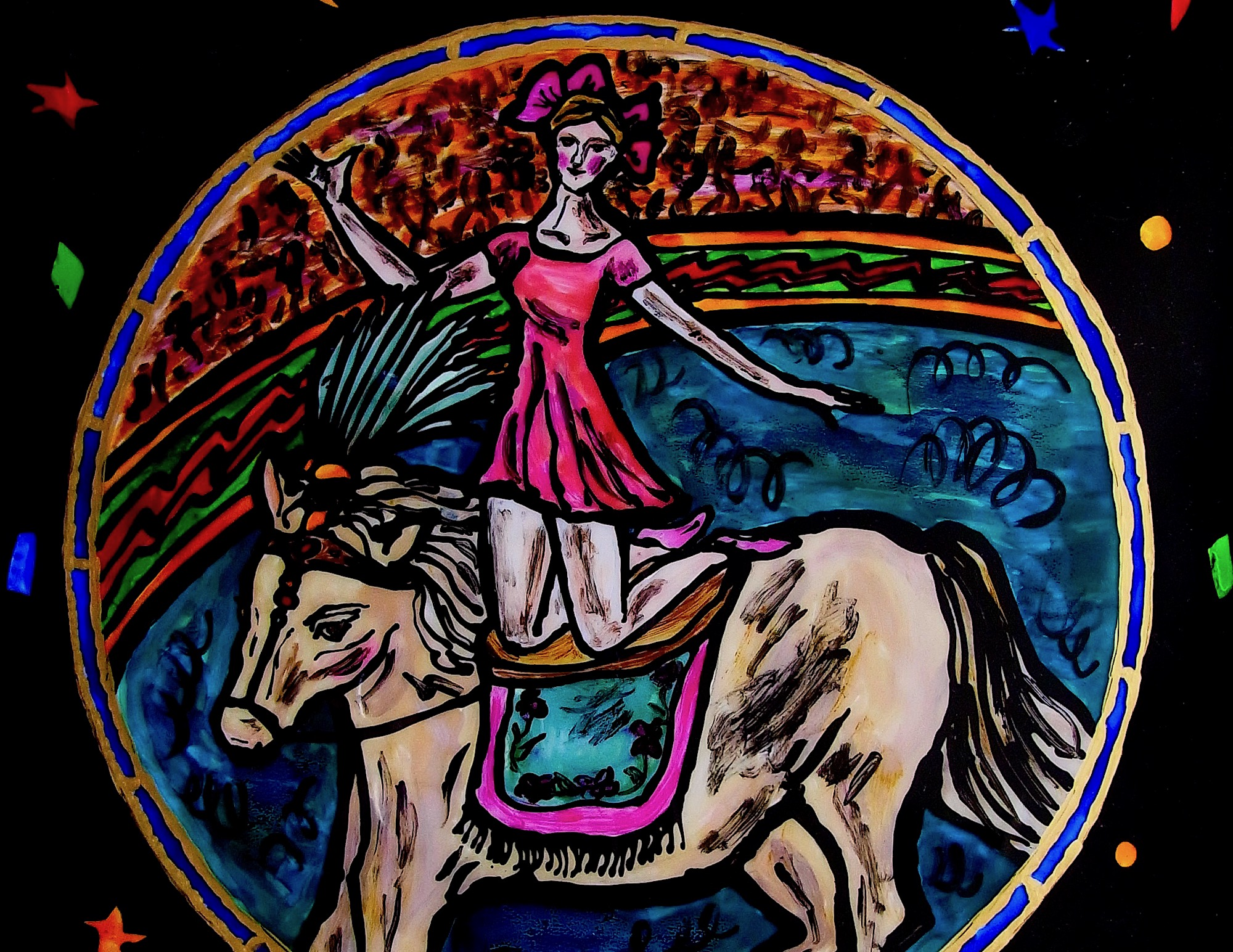 MAMI  /  Images et Poésie, De l'Esprit du Cirque