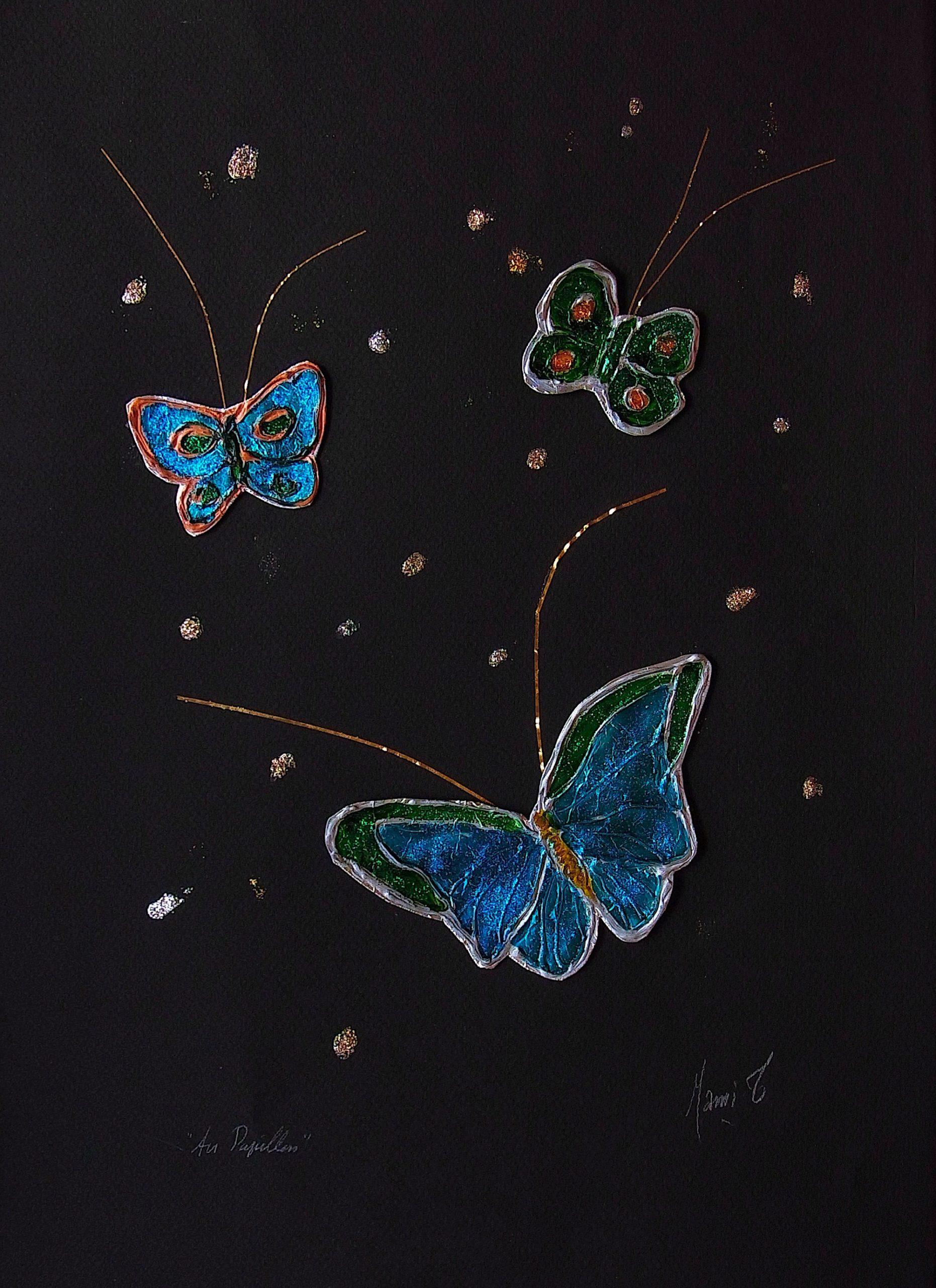 MAMI / Images et Poésie, Air Papillon