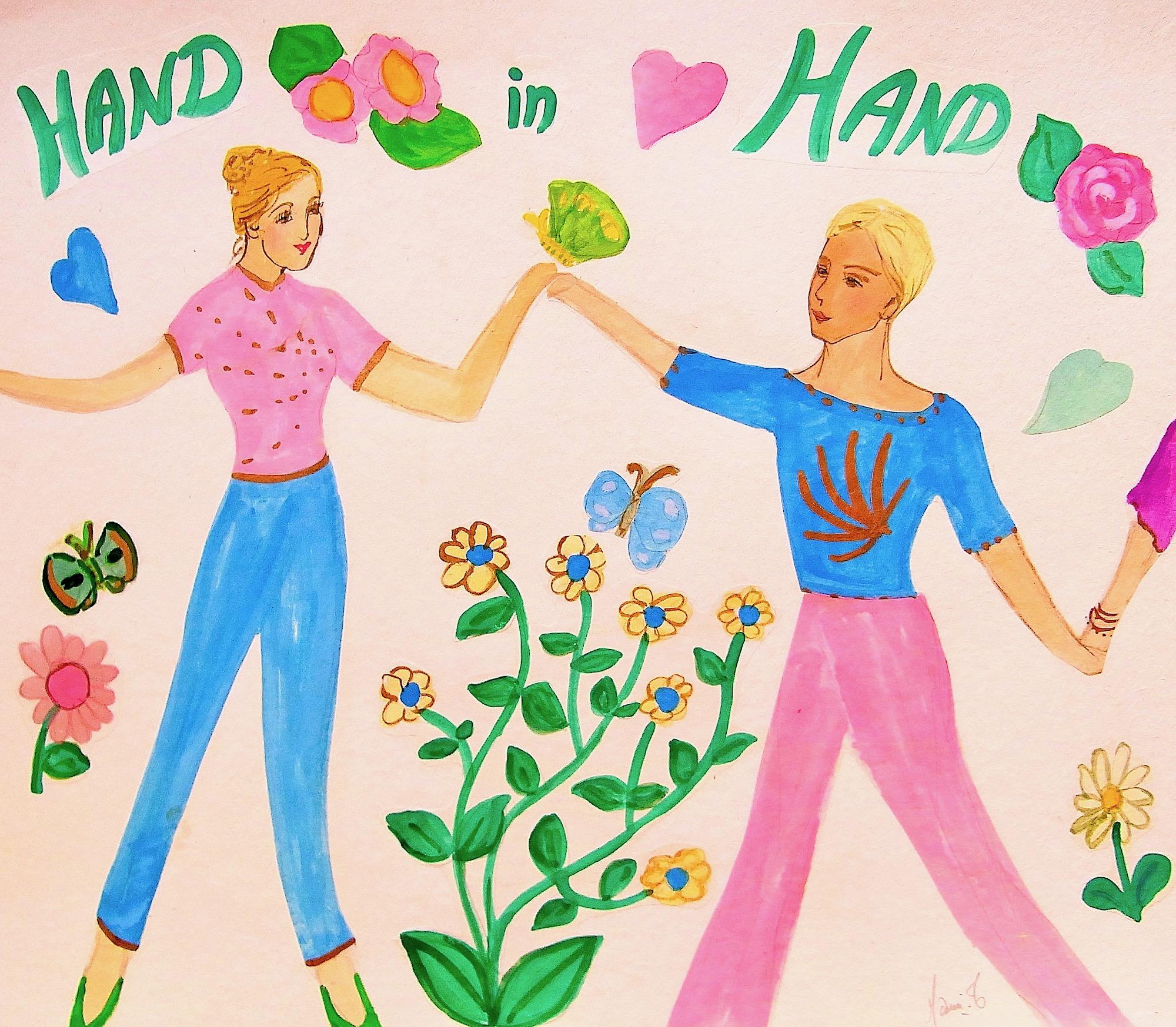 MAMI/ Images et Poésie, HAND in HAND