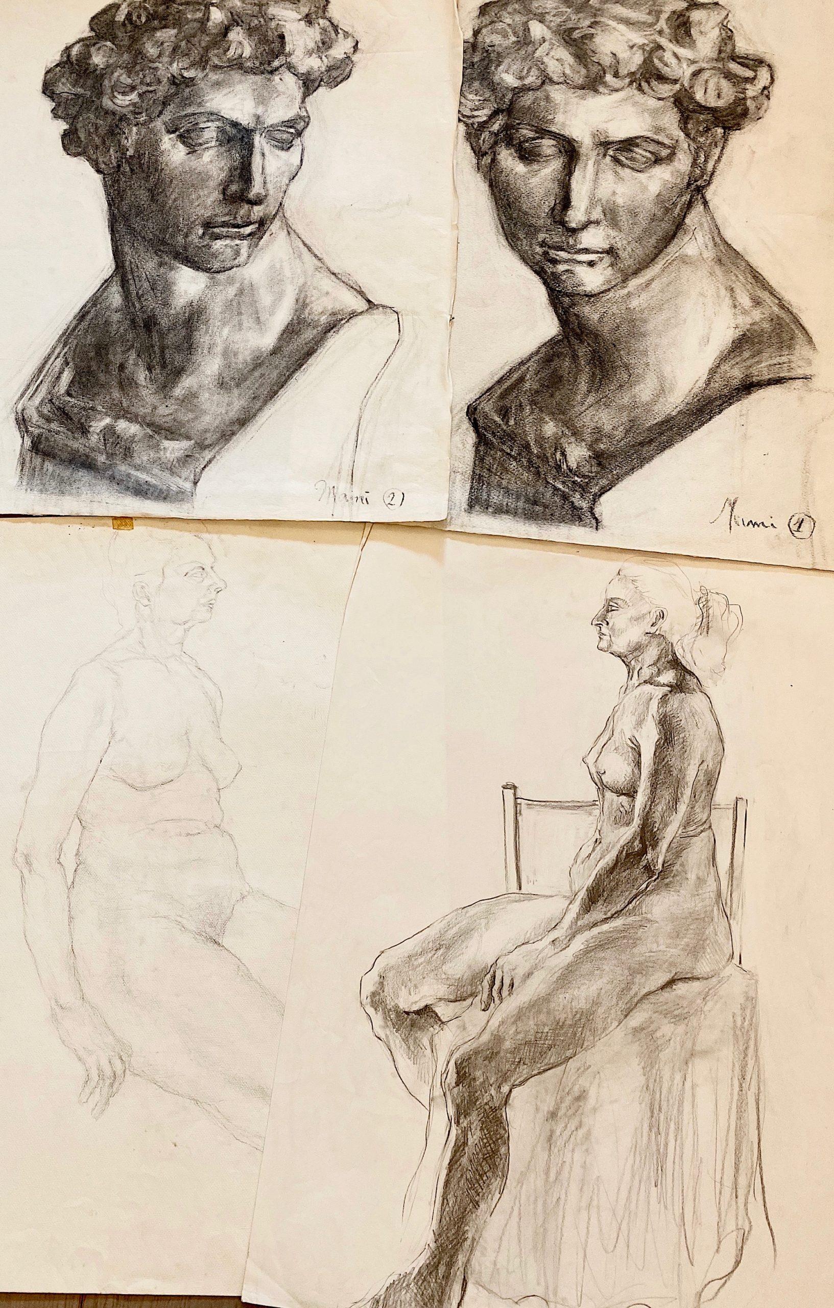 MAMI / Images et Poésie, Dans mon Atelier., Hier et Aujourd'hui