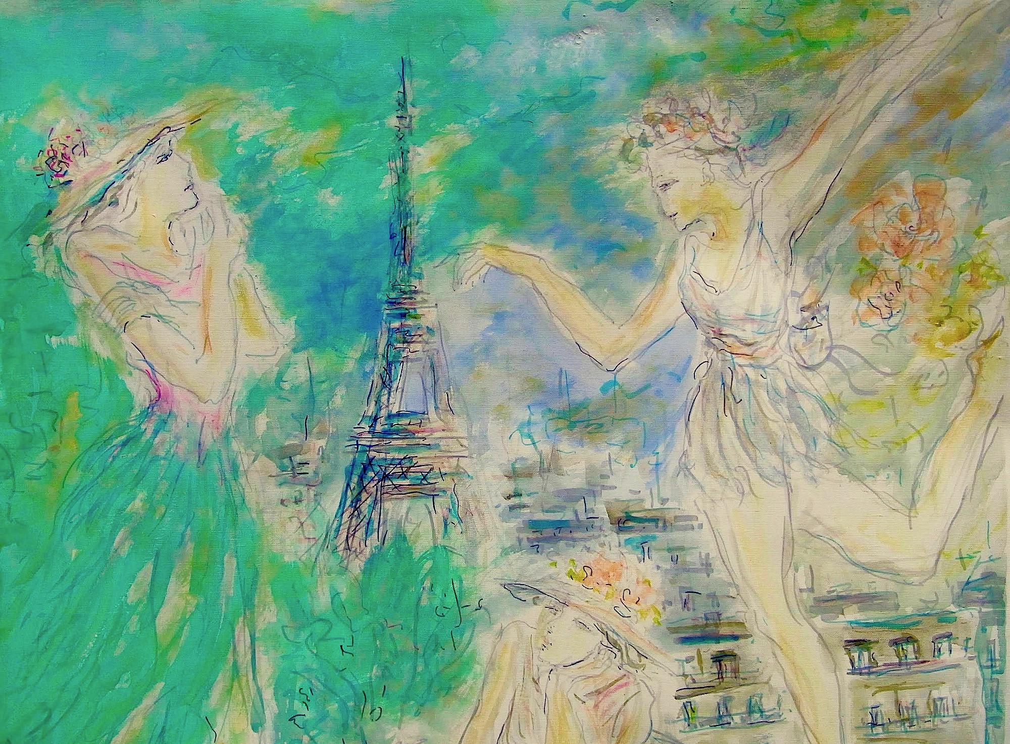 MAMI / Images et Poésie, Dans les Bras de Paris