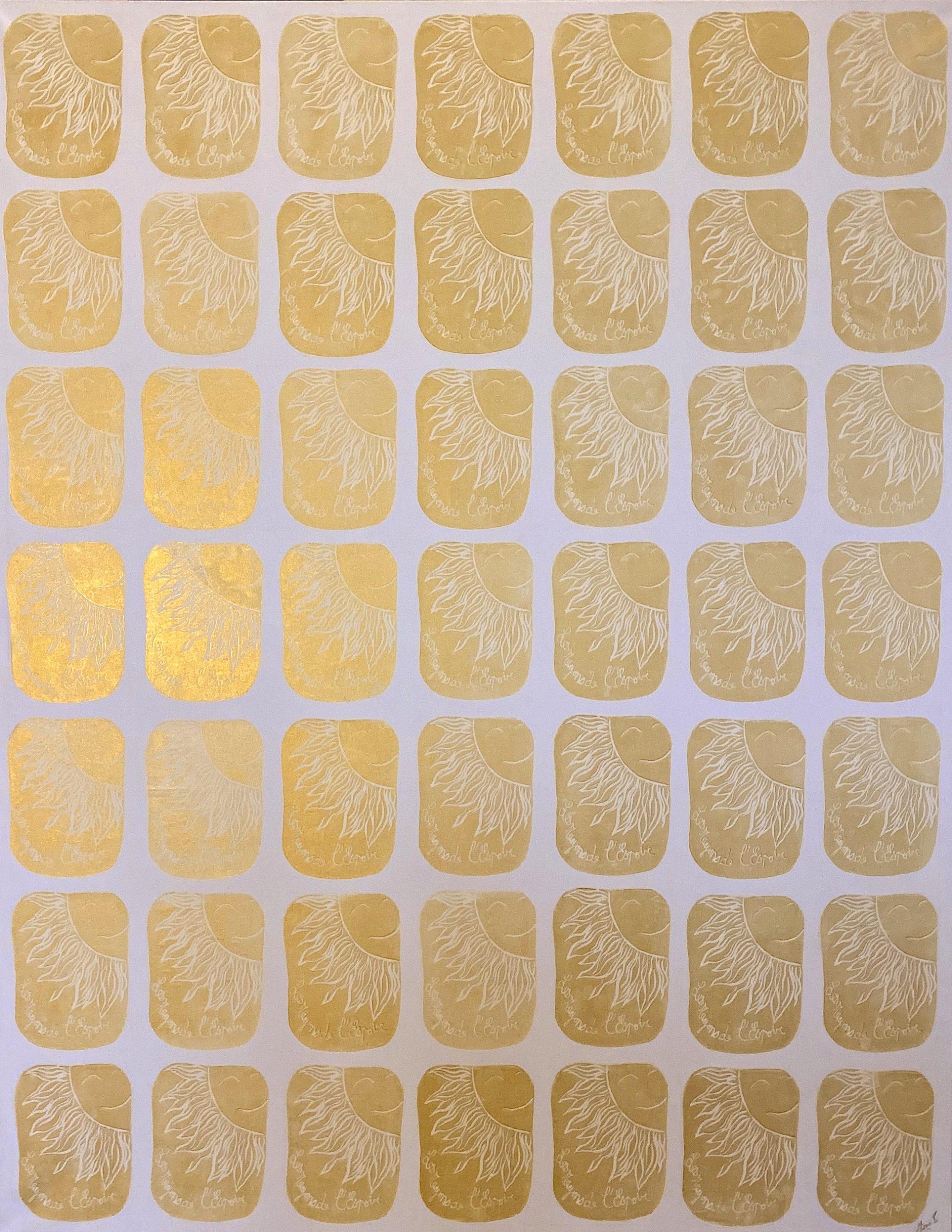 MAMI / Images et Poésie, Paroles  ( 146 Xx 114 cm )