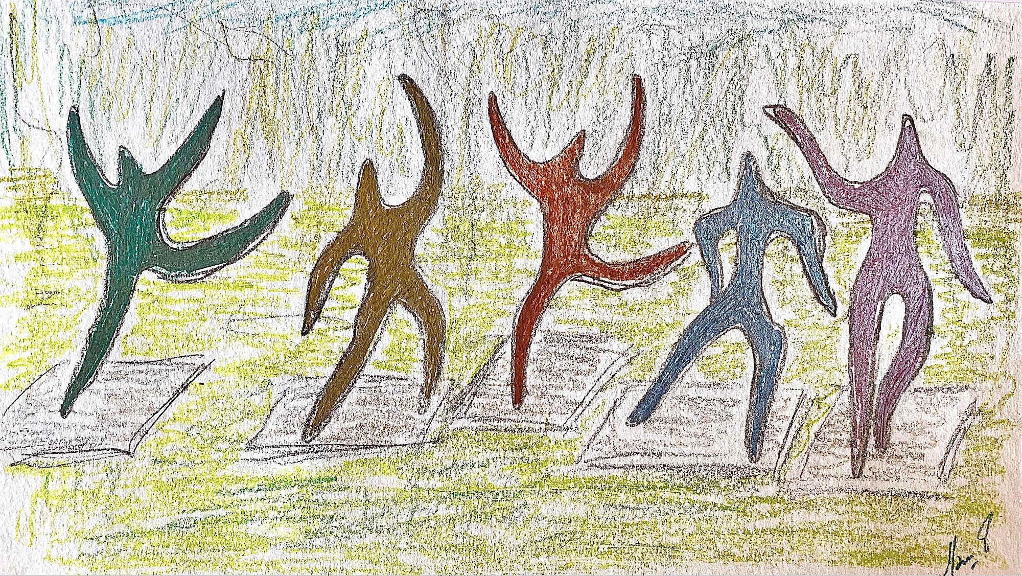 "MAMI /  Cahier de mes Rêves.  "" Etoiles Dansantes """